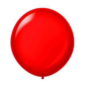 Giant Ballon 36'' Crystal Ruby Red