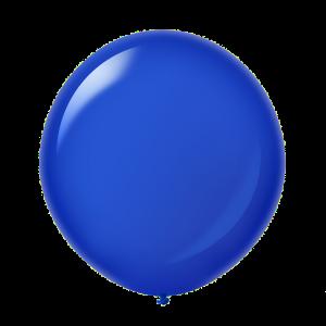 Giant Ballon 36'' Crystal Navy Blue