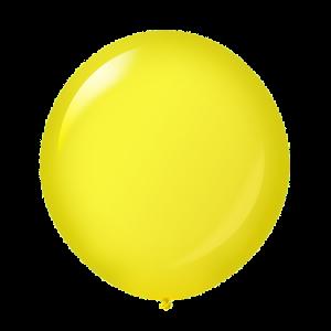 Giant Ballon 36'' Crystal Canary Yellow