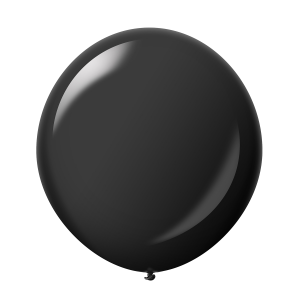 Giant Ballon 36'' Crystal Onyx Black