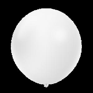 36 Giant Balloon Pearl White