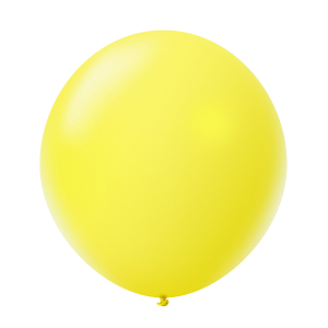 Giant 36'' Balloon Pearl Yellow