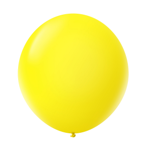 Giant Ballon 36'' Standard Lemon Yellow